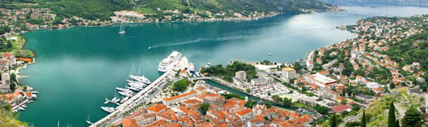 Le spiagge ed il mare in Montenegro