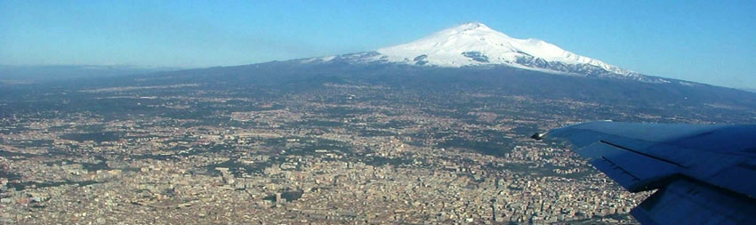 In volo per Catania