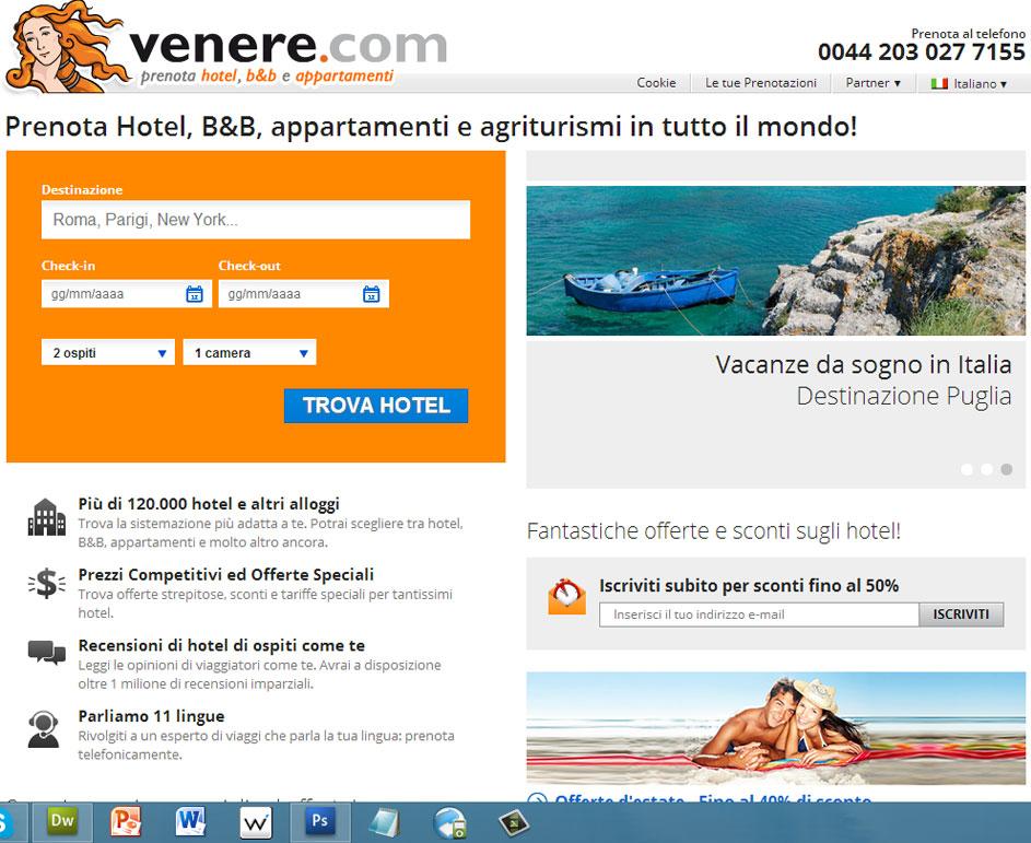 Prenota alberghi con Venere
