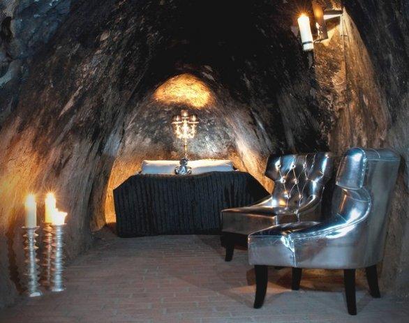 Sala Silvermine: una suite sottoterra!